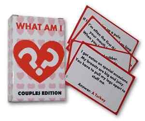 Details about WHAT AM I - Valentines Gift for Him / Her / Boyfriend  Girlfriend - Anniversary