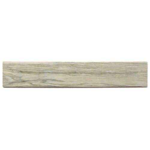 Sockelfliese Sadon Jungle S54065 mud grau 8 x 45 Holzoptik abgerundete Kante
