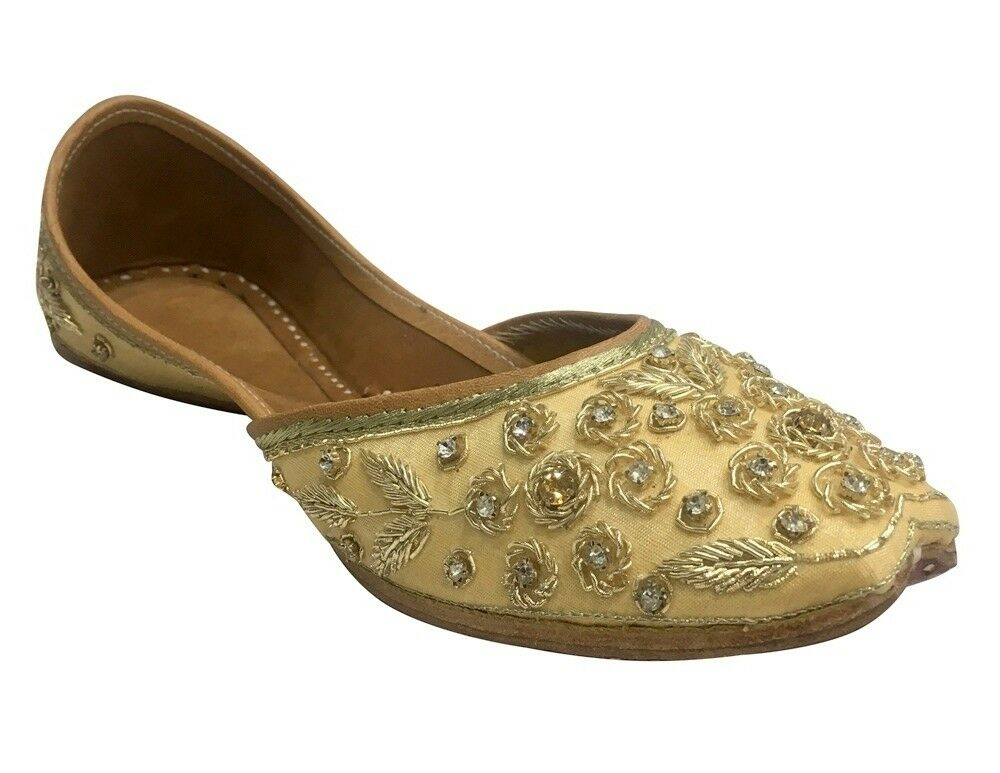 Stable Etats-unis Fancy Punjabi Juttis Indian Chaussures Flip Flop Khussa Shoes Sandales Plates Ss184 Pour RéDuire Le Poids Corporel Et Prolonger La Vie
