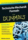 Technische Mechanik Formeln Fur Dummies by Wilhelm Kulisch (Paperback, 2015)
