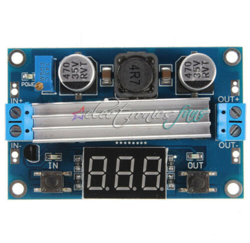 LTC1871 Boost Module 3.5-35V 100W With Dual Display Voltmeter
