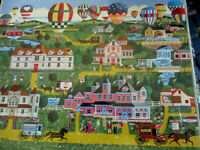 500 Piece Art Puzzle battle Creek Balloon Festival 16x 20