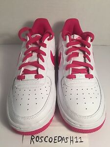 Image is loading Nike-Air-Force-1-Low-White-Hot-Pink-