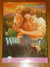 WILD BUTTERFLY MANGA HIROKI KUSUMOTO GN