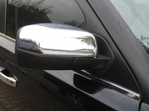CHROME MIRROR COVERS CAPS WINGS MOLDING HOUSING for RANGE ROVER SPORT 2005-2009