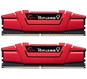 G-Skill-DIMM-16-GB-DDR4-3600-Ripjaws-V-Kit-RAM-rot-F4-3600C19D-16GVRB