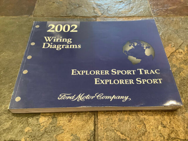 2002 Ford Explorer Sport  U0026 Sport Trac Wiring Diagrams