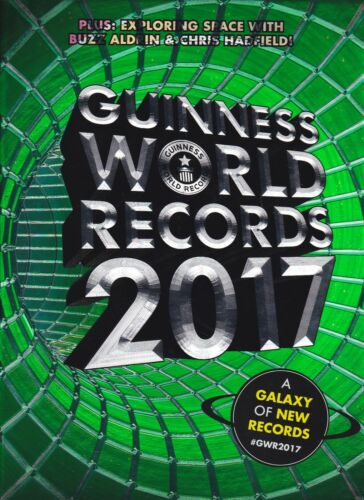 1 of 1 -  GUINNESS WORLD RECORDS - 2017