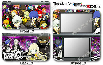 Persona Q Hot Skin Sticker Cover Decal for NEW Nintendo 3DS XL Version 2015