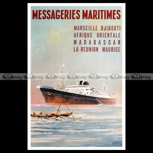 phpb-001211-Photo-MESSAGERIES-MARITIMES-PAQUEBOT-PIERRE-LOTI-A4-Poster-Reprint