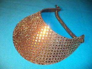 09417aa2a Details about Sequin Women Sun Visor Hat, No Headache Foam, Silver Gold  Black Golf Pool Travel
