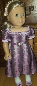 American-Girl-Caroline-Abbott-Doll-1812-BeForever-Retired-Bonus-6-034-Doll
