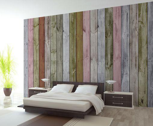 3D Holzfarbe 87879 Fototapeten Wandbild Fototapete BildTapete Familie DE