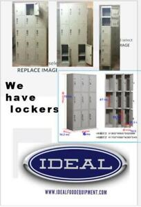 We have lockers - see our website for discount prices -  subsidized shipping rates Canada Preview