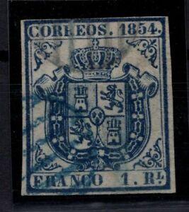 P133214/ SPAIN – COAT OF ARMS - EDIFIL # 34 USED – CV 535 $