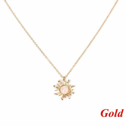 des bijoux bobo longtemps chian sun fleur pendentif opal collier btatement bib