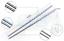Chopsticks 2//5//10Pairs Metal Reusable Korean Chinese Stainless Steel Chop Sticks