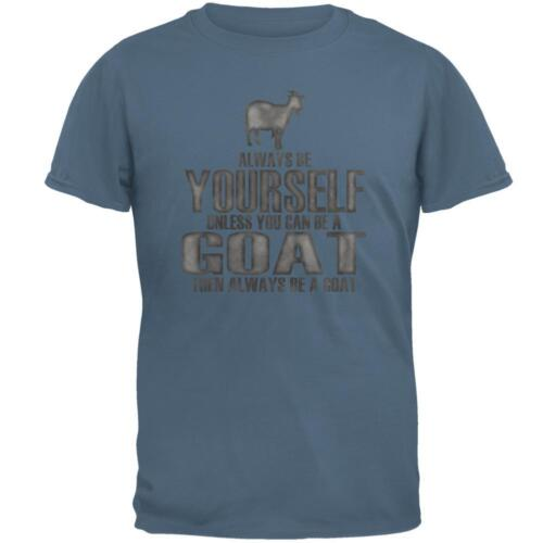 Always Be Yourself Goat Mens T Shirt