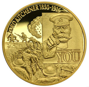 EAST-CARIBBEAN-STATES-2-2003-Gold-Plated-LORD-KITCHENER-MILITARY-LEADERS