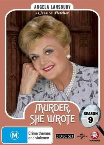 1 of 1 - Murder She Wrote:Season 9 (DVD,2015, 5-Disc Set)-REGION 4-Brand new-Free postage