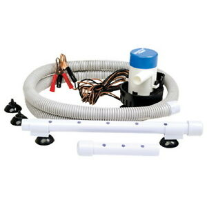 portable livewell aeration pump system kit for boats. Black Bedroom Furniture Sets. Home Design Ideas