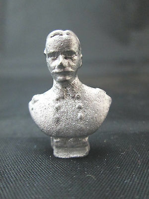 Dollhouse Miniature Unfinished Metal Wagner Bust