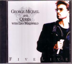 CD-NOUVEAU-GEORGE-MICHAEL-amp-QUEEN-Five-Live-Killer-papa-ce-qui-a-Rolling-mkmbh