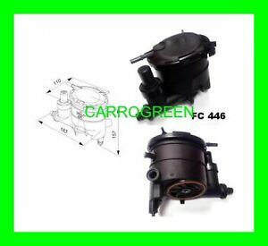 boitier filtre carburant gasoil peugeot 206 diesel 1 9l ebay. Black Bedroom Furniture Sets. Home Design Ideas