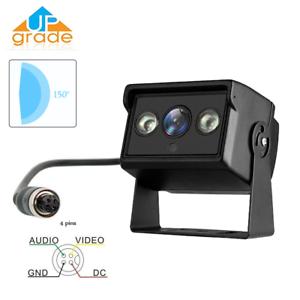 4 IR Light Night Vision Car Truck Rearview Reversing Backup HD Camera Waterproof