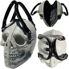 Kreepsville 666 The Skull Collection Bowler Style Bag Natural Glow in the Dark