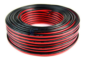 100-039-Feet-16-GA-Gauge-Red-Black-2-Conductor-Speaker-Wire-Audio-Cable-Audiopipe