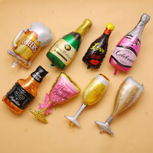 Various-World-Cup-Drinking-Cup-Aluminum-Film-Balloons-Party-Bar-Wedding-Decor