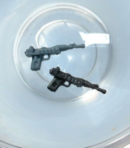 2 LOT CUSTOM BLACK /&Gray Blaster Weapon 1985 POTF A-Wing,B-Wing Vintage Star War