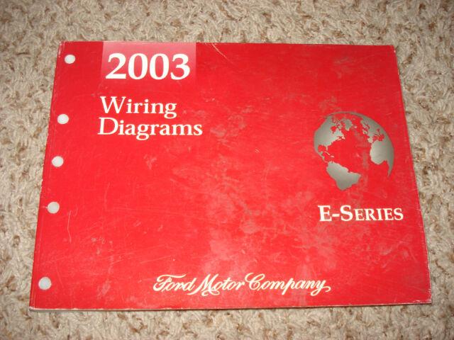 2003 Ford E Series Van Wiring Diagrams Service Manual Shop