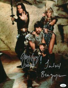Gerry-Lopez-Sandahl-Bergman-Autograph-Signed-11x14-Photo-Conan-JSA-COA