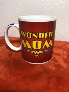 Wonder Mom Wonder Woman cup, gift mothers Coffee/Tea Mug EUC GL48