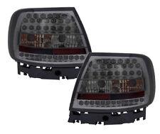 Back Rear Tail Lights Lamp Indicator Smoke LED Pair For Audi A4 B5 11/94-9/00