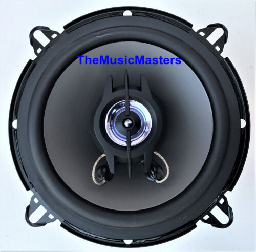 """Pair 5 1//4/"""" Quality Coaxial 2-Way Car Audio Stereo Radio Replacement Speakers"""