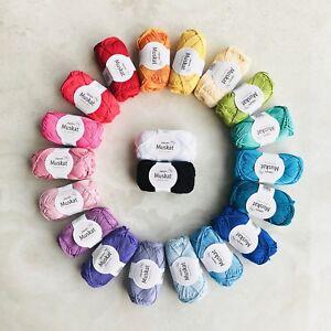1kg-DK-cotton-yarn-pack-100-Mercerised-Egyptian-cotton-knitting-crochet-gifts