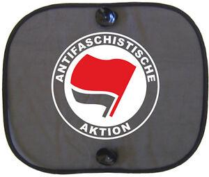 ANTIFASCHISTISCHE-AKTION-Auto-Sonnenschutz