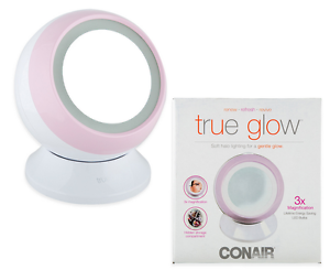 Conair-Mirror-Led-Makeup-Lighted-Beauty-Vanity-Cosmetic-Light-Dressing-White
