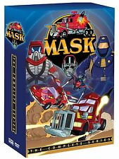 M.A.S.K COMPLETE SERIES Collection 12 DVD Set TV Show Episode Box Lot Movie MASK