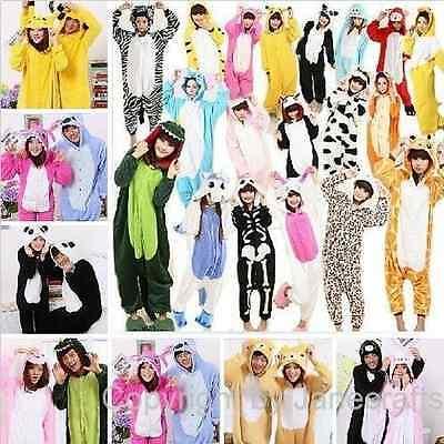 HOT Sale Unisexe Kigurumi pyjamas adultes Cosplay Costumes animaux Onesies Suit.