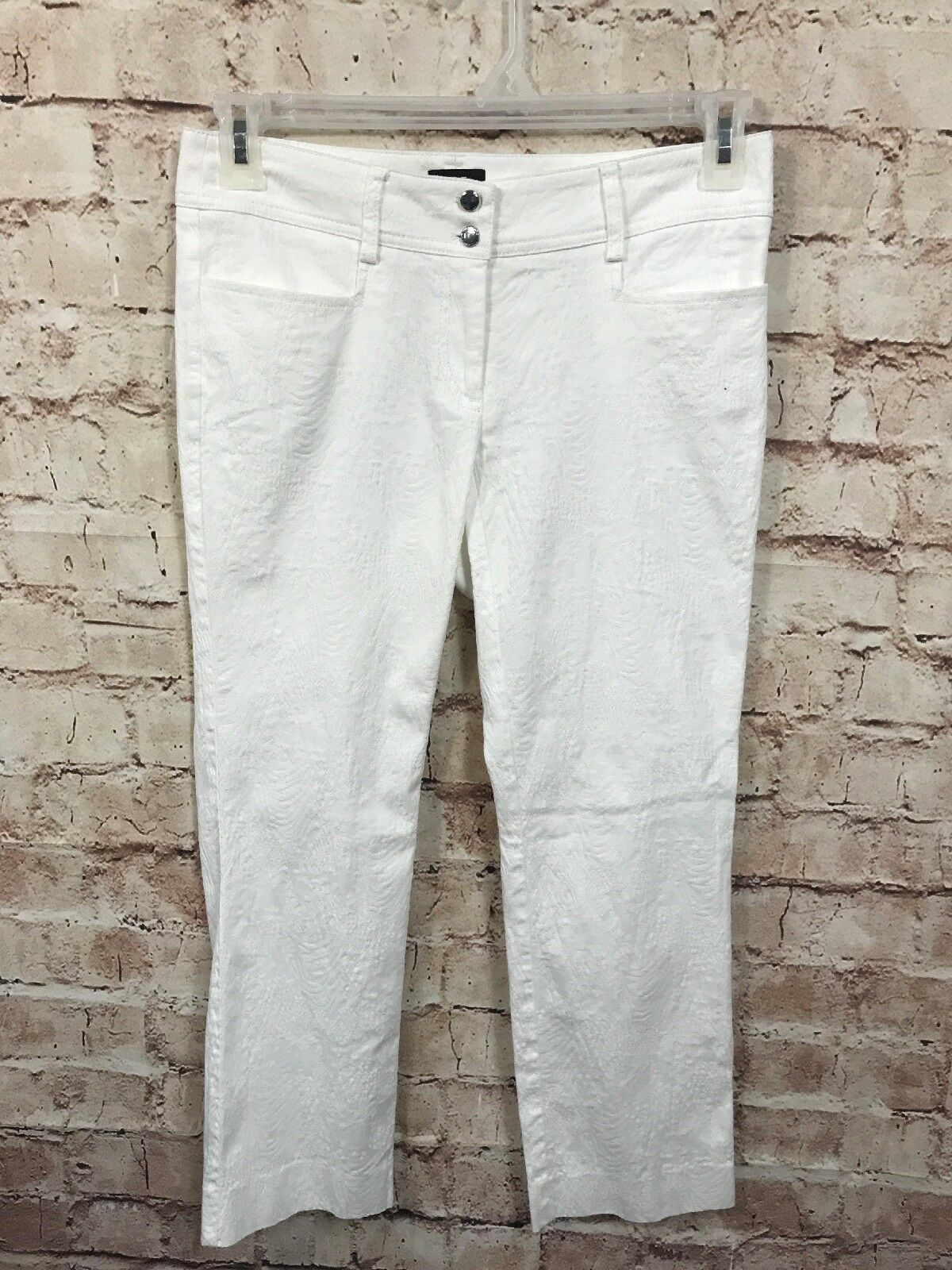 W By Worth Jeans Size 2 White Pants