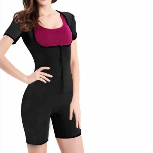Sweat Suit Exercise Sauna Gym Wear Fitness Weight Loss Miss Training Belt Shirt