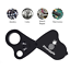 thumbnail 4 - 30X 60X Jewelers Loupe Magnifier With Light Jewelry Loop Pocket Magnifying Glass