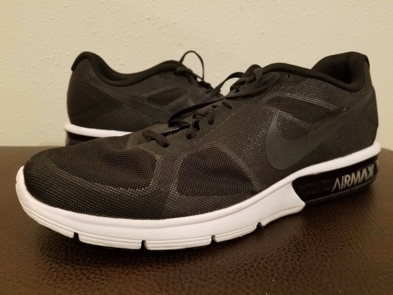 The most popular shoes for men and women NIKE AIR MAX SEQUENT MENS RUNNING SHOES  719912-009 BLACK Price reduction