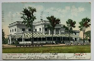 1909 NY Postcard Buffalo New York The Country Club front ...
