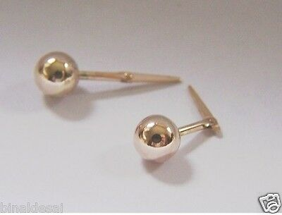Kids Girls 9ct Gold Andralok 6mm Small 5 Five Star CZ Studs Earrings B/'Day GIFT