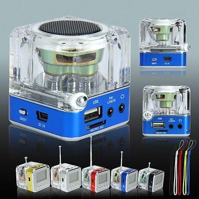 NIZHI TT-028 LED DISPLAY MINI SPEAKER USB FM SD FOR IPHONE IPAD IPOD MP3 MP4 PC